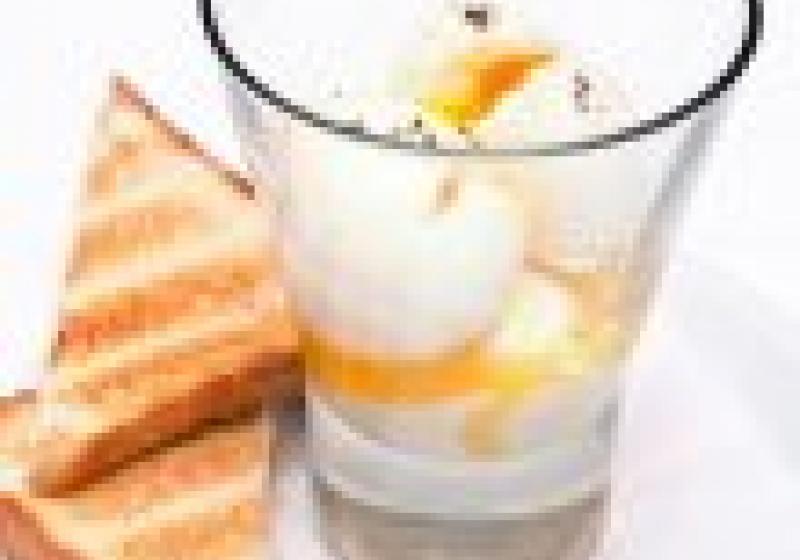 VIDEO: vejce do skla