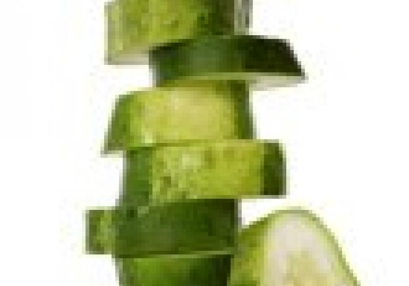 Krásná uvnitř i navenek: salátová okurka