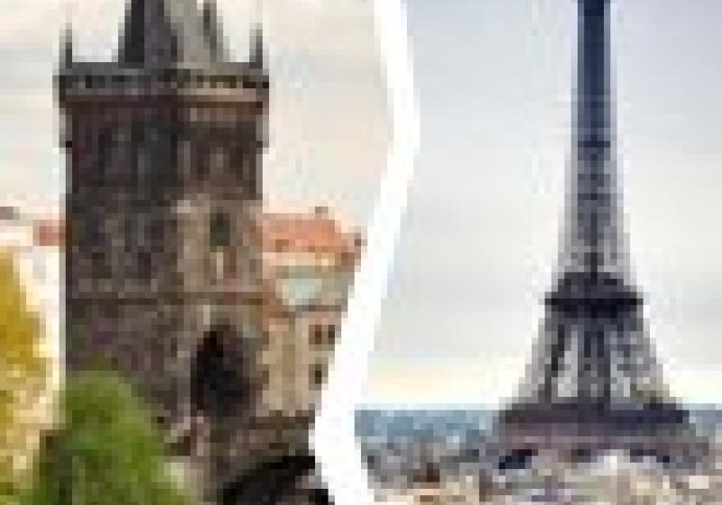 Michelinská Praha vs. hvězdná Paříž? 2 : 41!