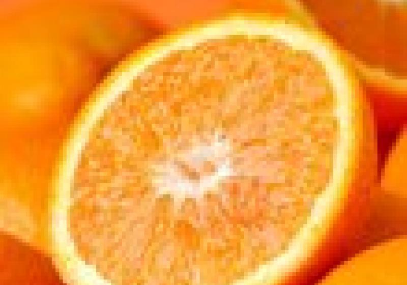 Krásná uvnitř i navenek: pomeranč