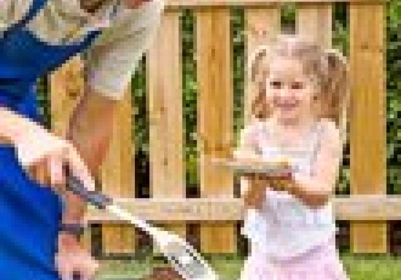 Bezpečné grilování s dětmi