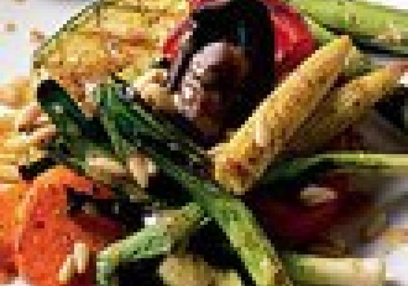 Zdravé grilování: paprika