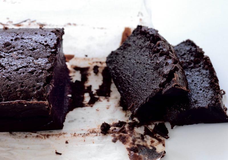 Čokoládový fondán