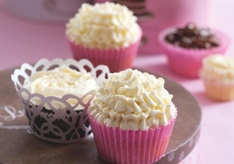 Citronové cupcaky