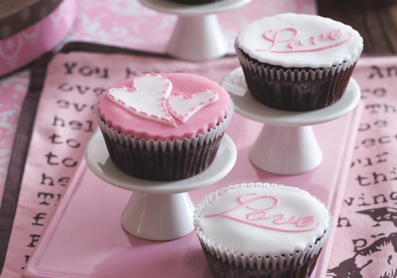 Cupcaky s fondánem