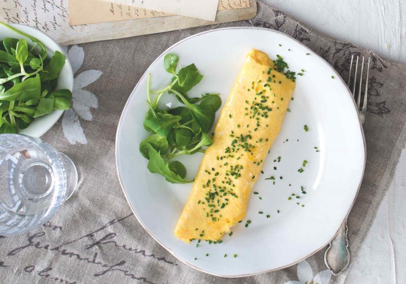 Dokonalá vaječná omeleta