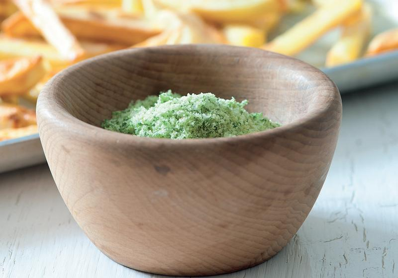 Domácí hranolky s petrželkovou solí