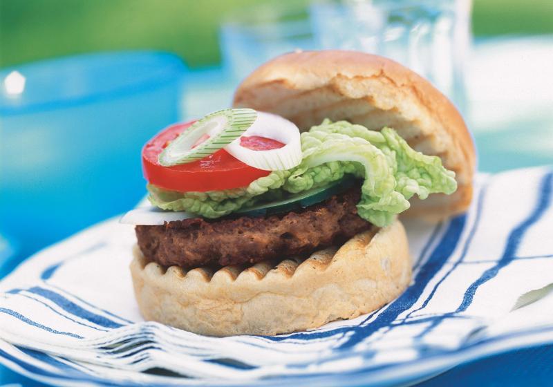 Grilované hamburgery