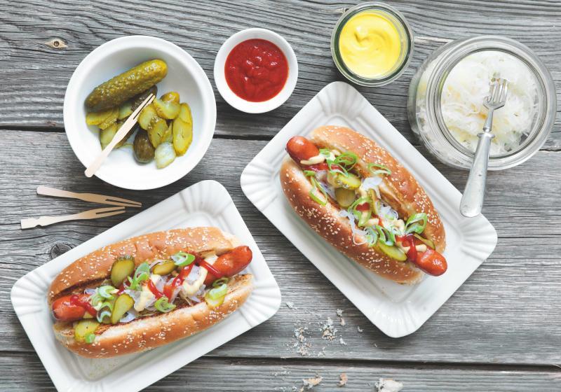 Klasický hot dog