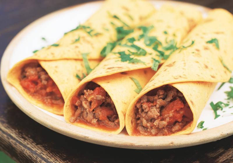 Hovězí burritos