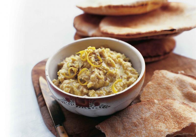 Hummus z bílých fazolí