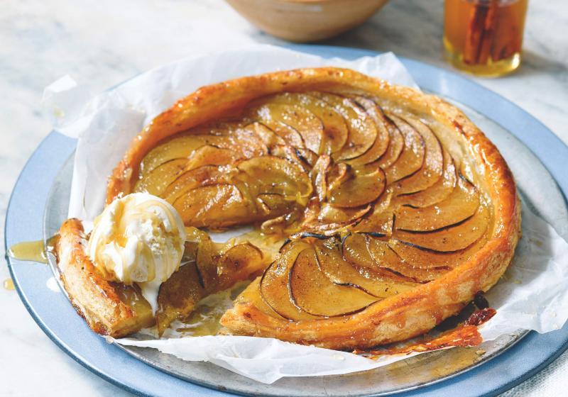 Jemný koláč s jablky