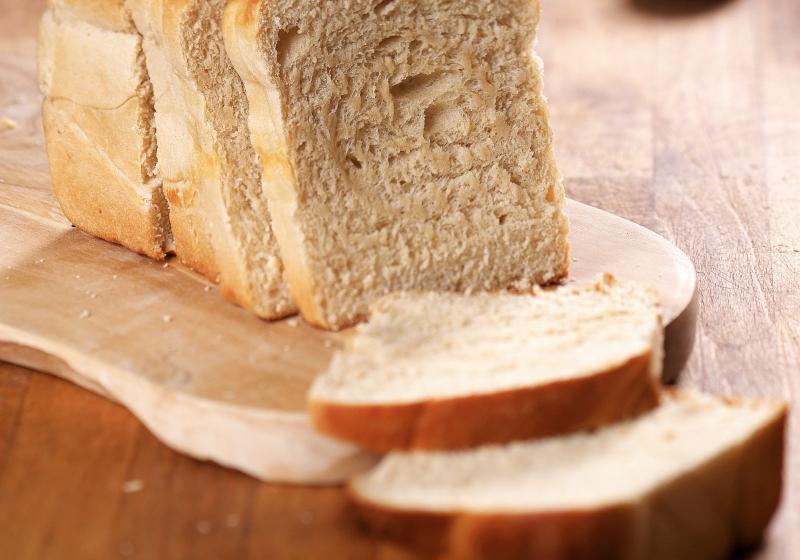 Jemný mléčný chléb