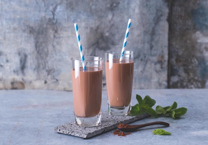 Kakaové smoothie