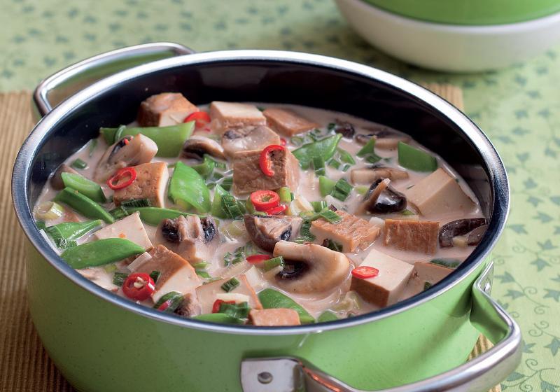 Kokosové kari s tofu