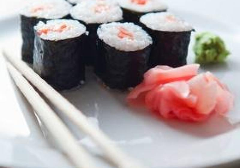 Suši menu