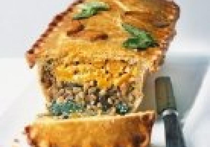Sváteční vegetariánské menu