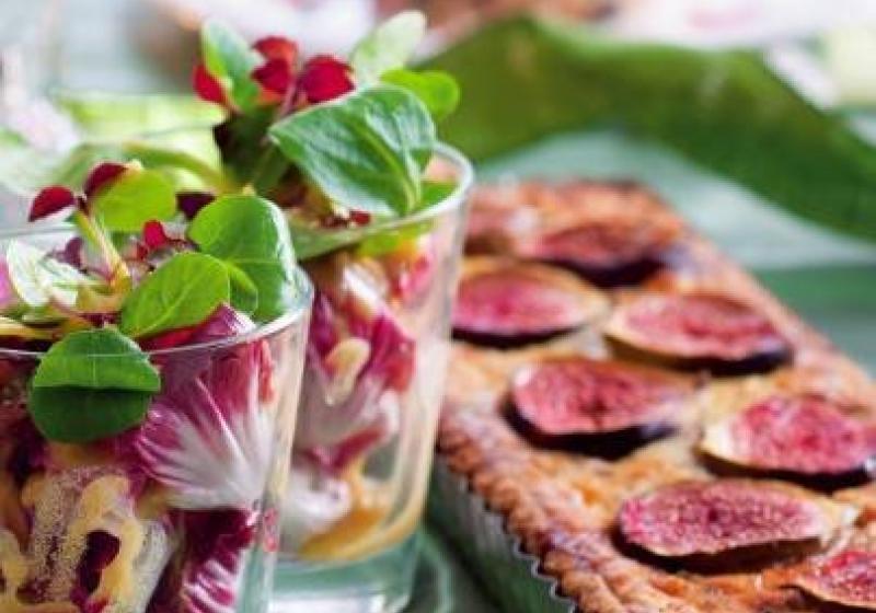 Slavnostní vegetariánské menu