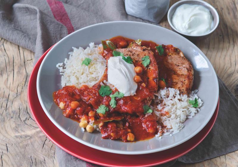 Kotlety s cizrnou a rýží