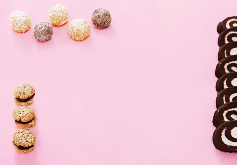 Kuličky z bílé čokolády