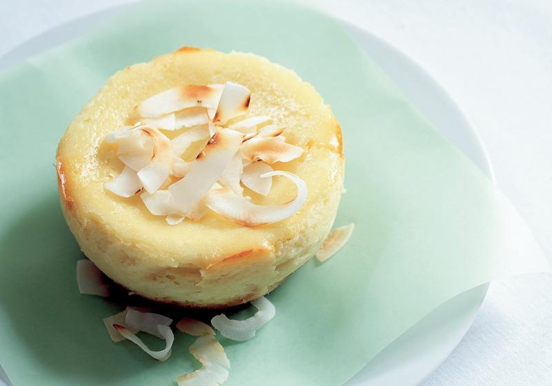 Limetovo-kokosový cheesecake