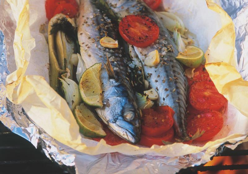 Makrela na grilu