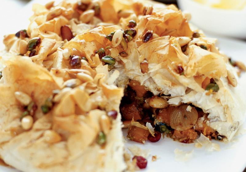 Marocký kořeněný koláč