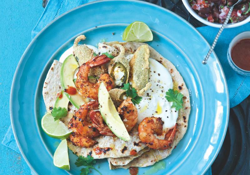 Chilli-paprikové krevety