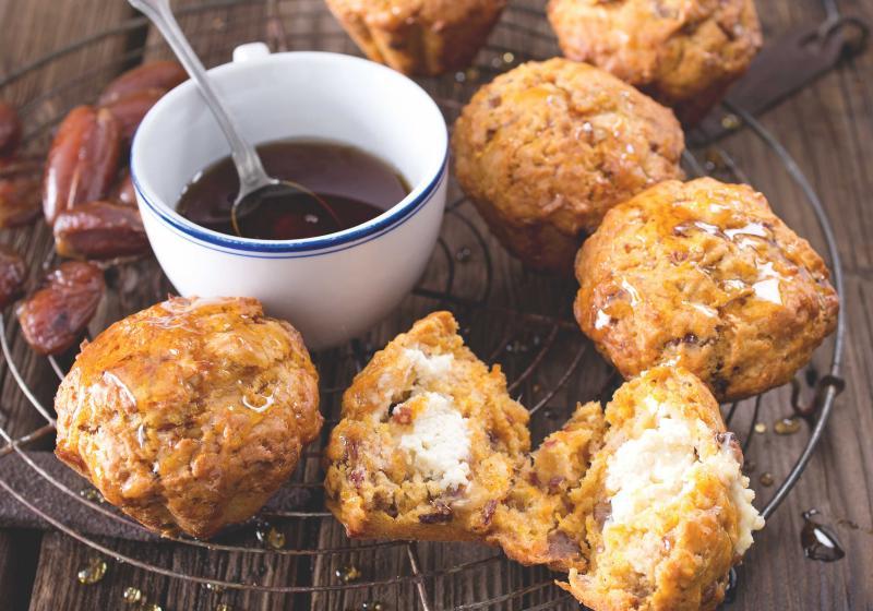 Mrkvové muffiny s náplní