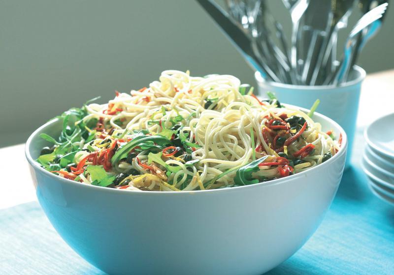 Pěkně ostré špagety