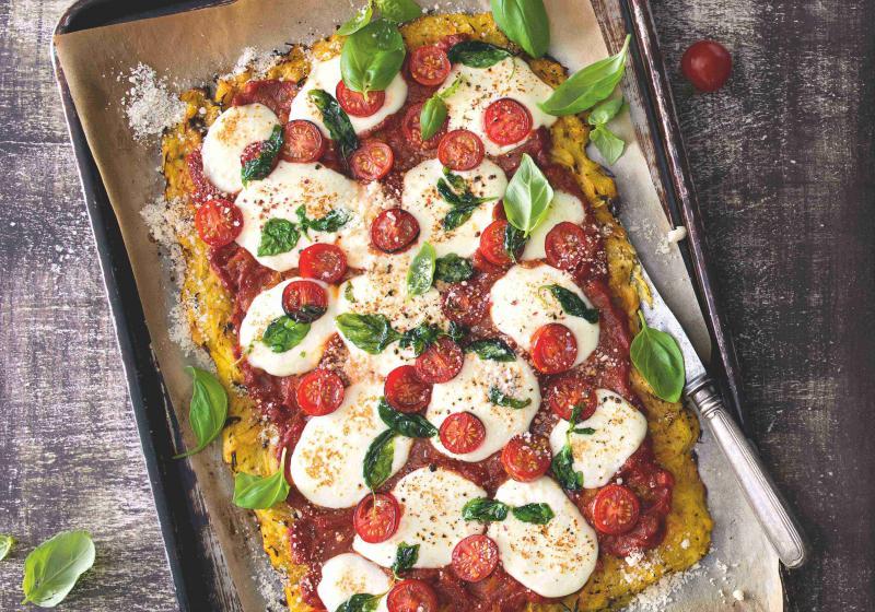 Pizza ze špagetové dýně