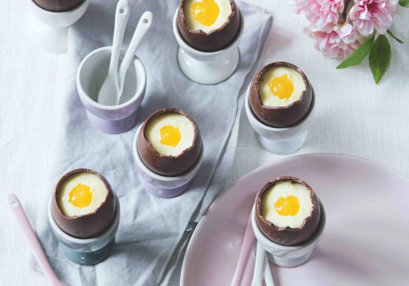 Plněná velikonoční vajíčka