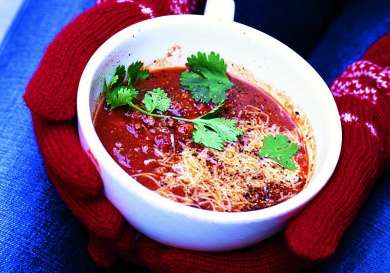 Polévka chilli