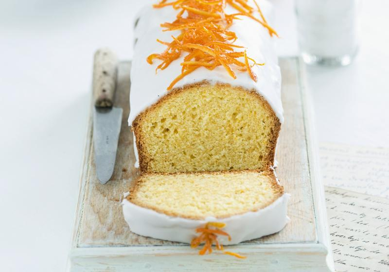 Pomerančový chlebíček