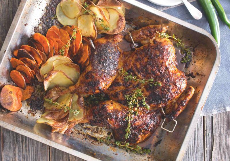 Portugalské paprikové kuře