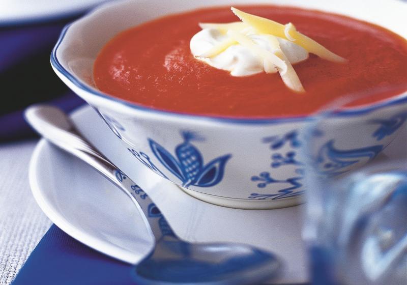 Lahůdková rajská polévka