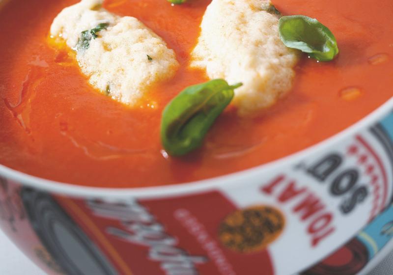 Rajská polévka s nočky
