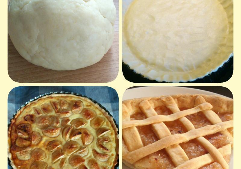 Alsaský jablkový koláč