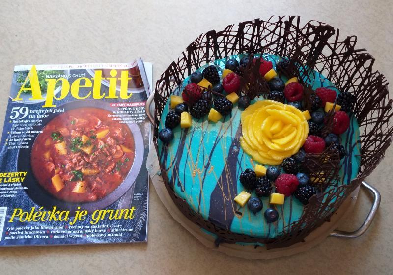 """Slavnostní dort """"Čarovný les"""""""