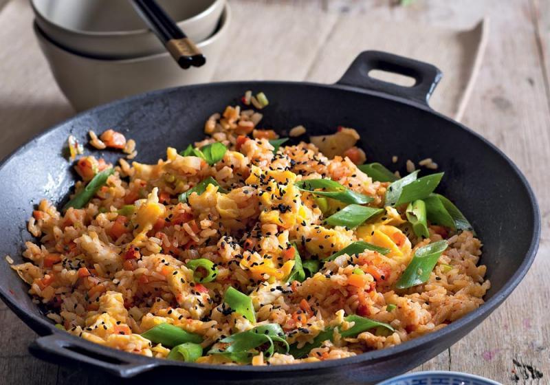 Smažená rýže s kimči