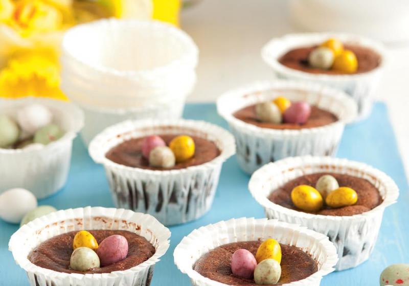 Čokoládové minicheesecaky