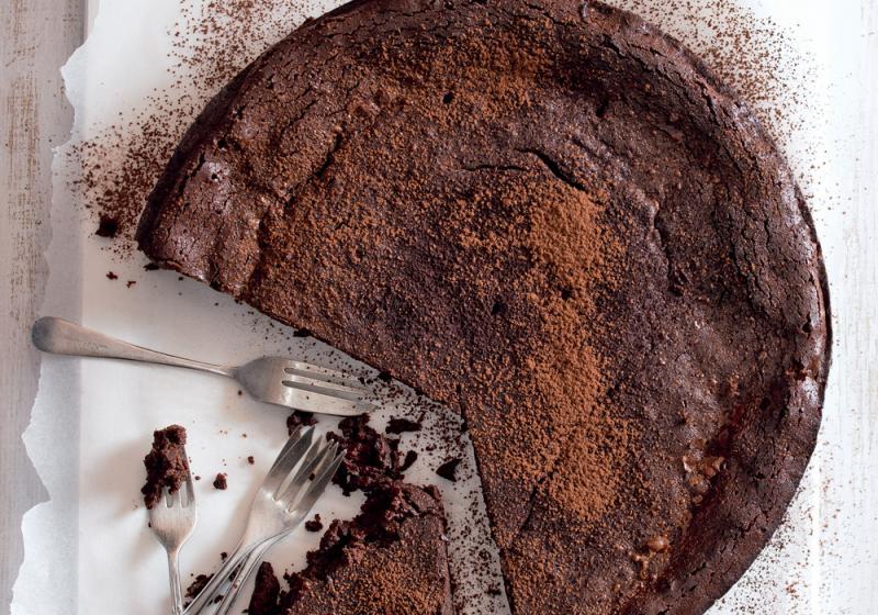 Čokoládový dort