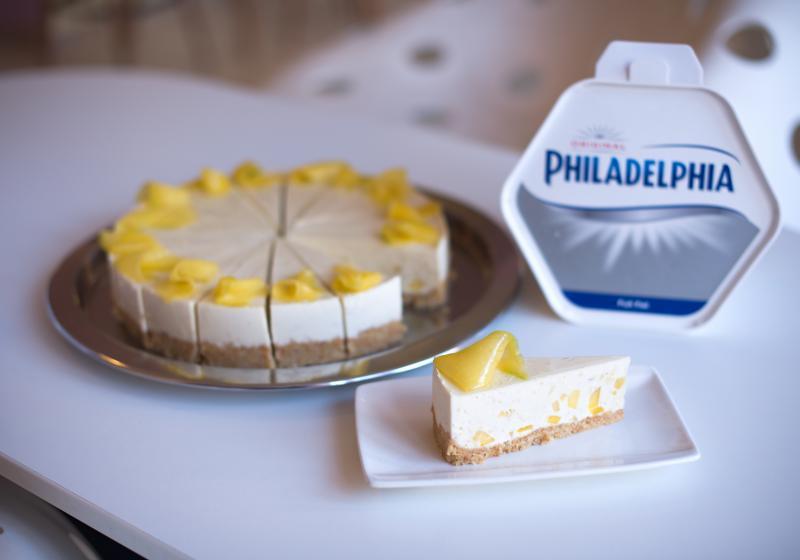 Mangový cheesecake