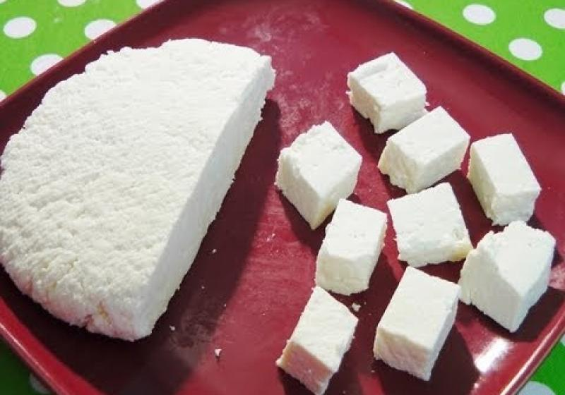 Paneer - farmářský sýr
