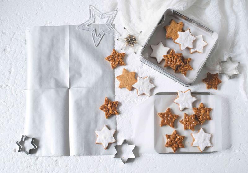 Skořicovo-mandlové hvězdičky