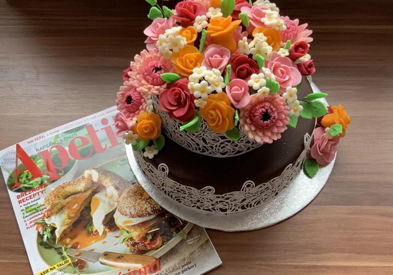 Čokoládový dort k 15. narozeninám