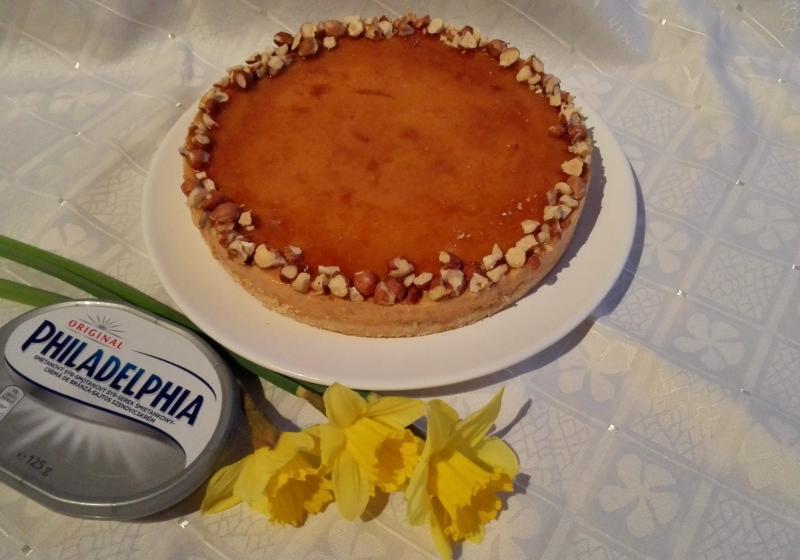 Lotuskový cheesecake s burákovým  máslem