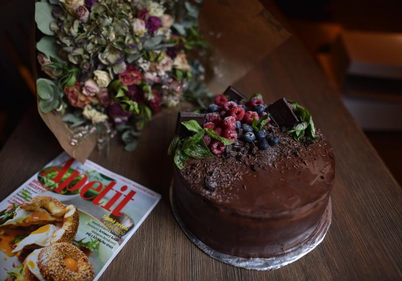 Extra čokoládový dort