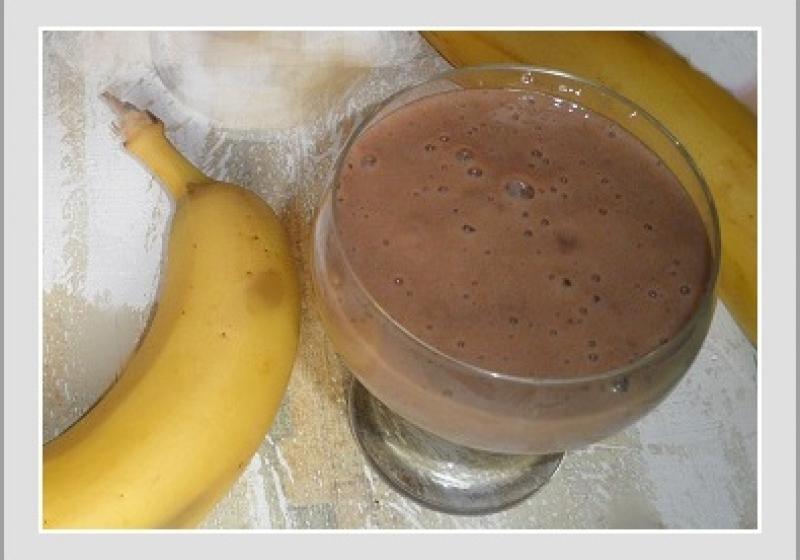 Banánový zdravý pudink
