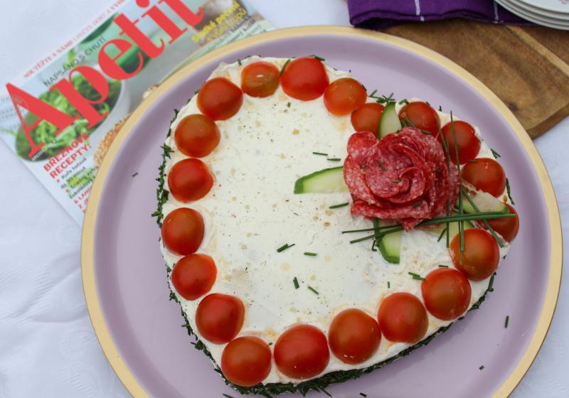 Slaný dort  k 15. narozeninám Appetite